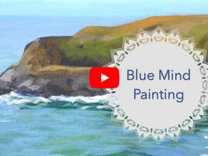 Blue Mind Painting