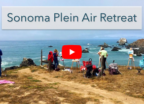 Sonoma Plein Air Retreat: Part 1