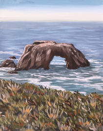 """Arched Rock, 11 x 14"""""""