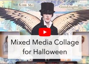 "Halloween Collage // Working ""Off Brand"""