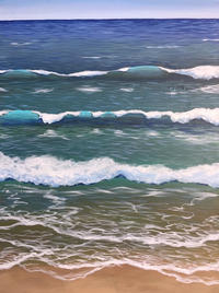 """Out to Sea 30 x 40"""""""