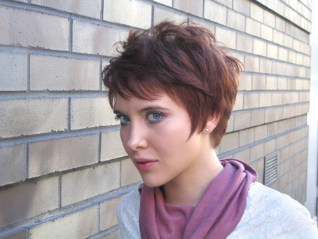 A Star's Secret Styling Her Pixie