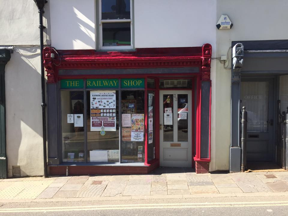 An image of The Railway Shop, Blaenavon.