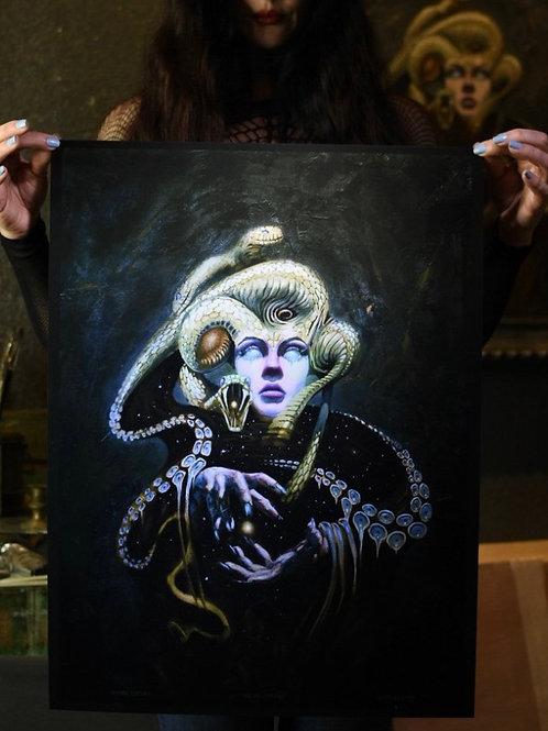 Medusa Limited Edition Print - Foil Paper Edition