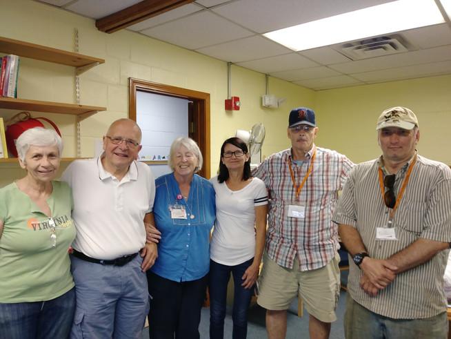 John Scibak at the pantry, August 25