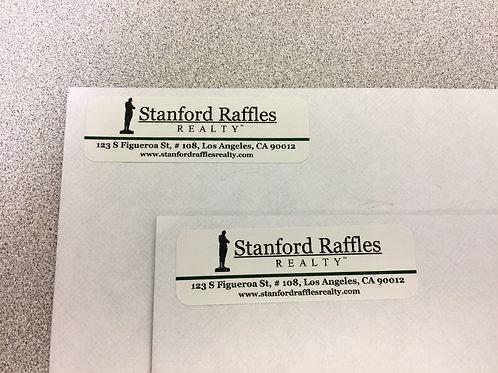 Mailing Labels Set of 100