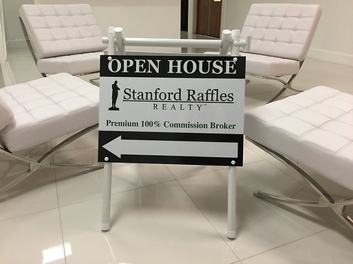 SRR Directional Signs Lot x 3