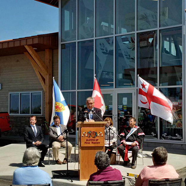 Grand Opening of Glooscap Landing in 2017