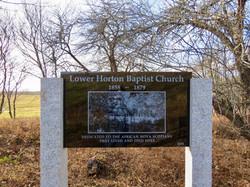 Lower Horton Baptist Church Memorial