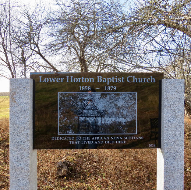 The memorial installed by Glooscap Ventures