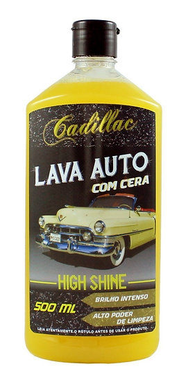 LAVA AUTO COM CERA HIGH SHINE 500ml | CADILLAC