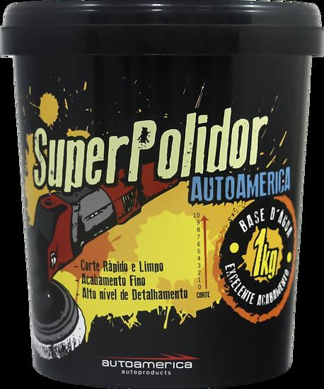 MASSA DE POLIR SUPER POLIDOR 1Kg | AUTOAMERICA