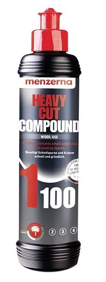 HEAVY CUT COMPOUND 1100 - 250ml | MENZERNA