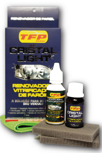 CRISTAL LIGHT - RENOVADOR E VITRIFICADOR DE FARÓIS | TFP