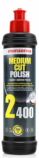 MEDIUM CUT POLISH 2400 - 250ml | MENZERNA