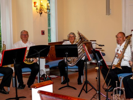 Lowcountry Brass Quintet Raises $500 for LCCB
