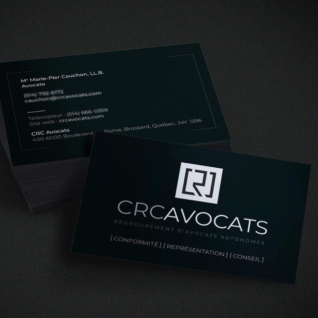 Carte de visite CRC Avocats