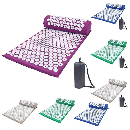 Acupressure Mat Set | Relax Your Back Muscles Deeply