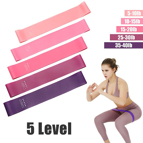 Must Have! Resistance Bands PACK of 5