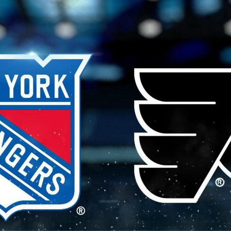 Game 14 Preview: Flyers vs Rangers