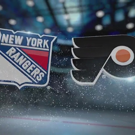 Game 26 Preview: Flyers vs Rangers