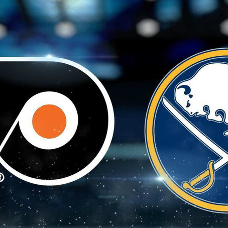 Game 17 Preview: Flyers at Sabres