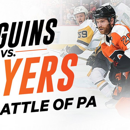 Game 20 Preview: Flyers at Penguins
