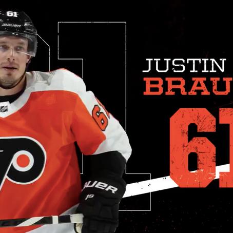Justin Braun Broke His Foot in Season Finale
