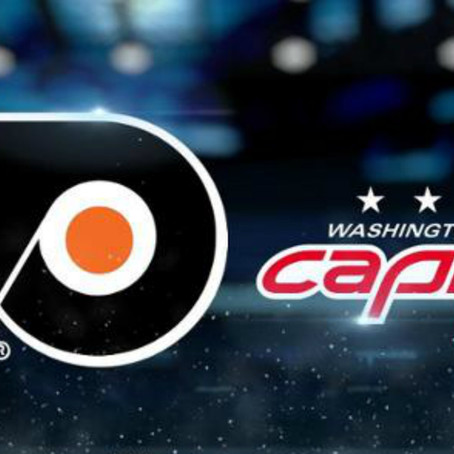 Game 13 Preview: Flyers at Capitals