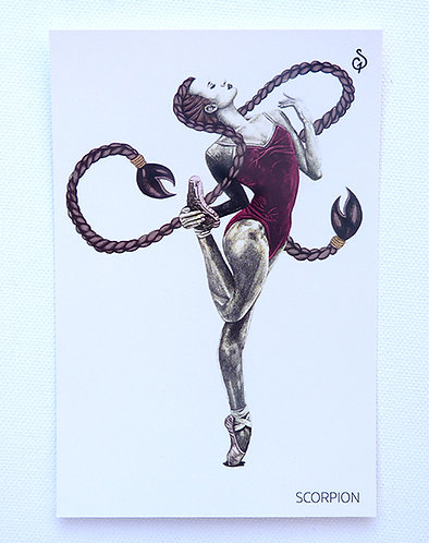 Horoscope - carte SCORPION