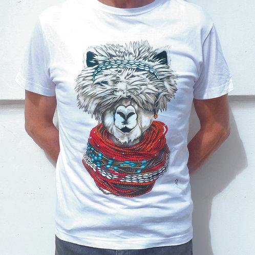 T shirt- lama -XL