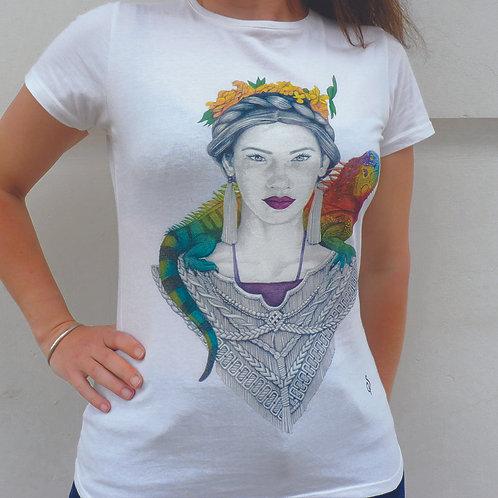 T shirt- 3 eme oeil  -Coton Bio- M