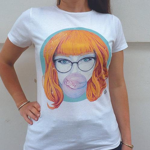 T shirt- Burbuja del Mar -Coton Bio- M