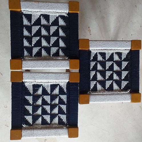 Set of 3 Noir et Blanc