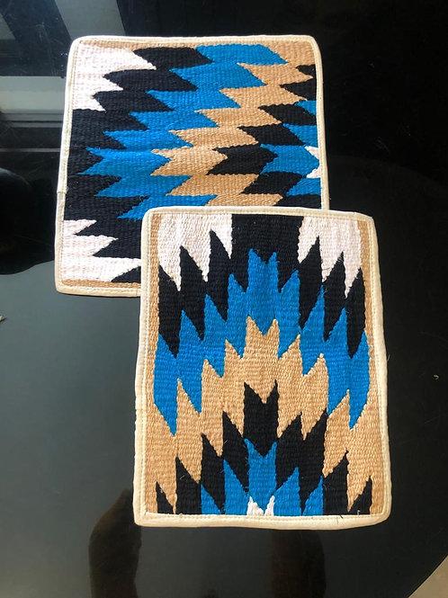 Blue Rivera Cushion Covers