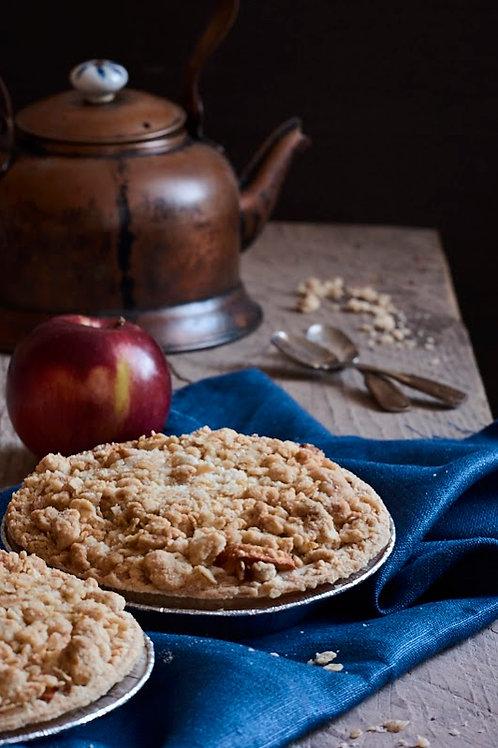 Gluten-free Apple Crumb Tart