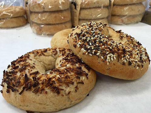 Gluten-free Plain Bagels