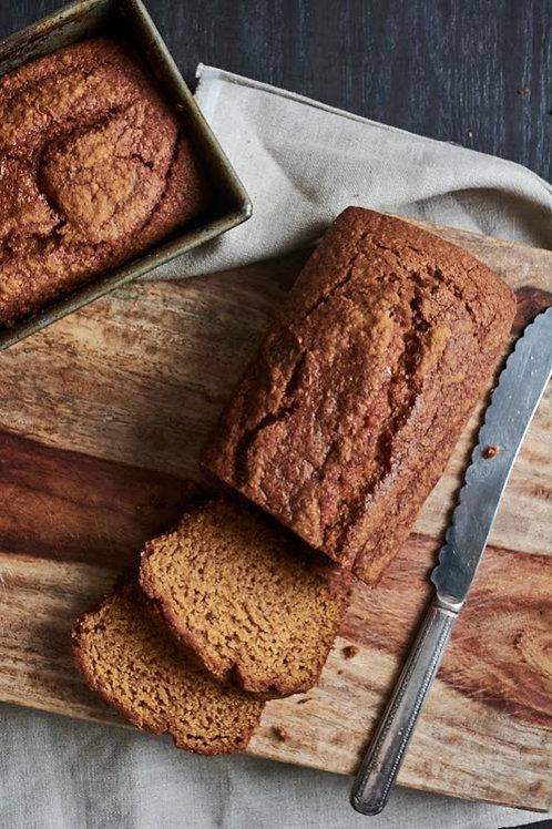 Gluten-free Pumpkin Quick Bread