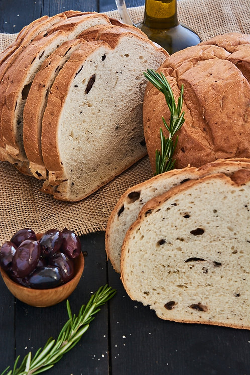 Rosemary & Olive Round Bread