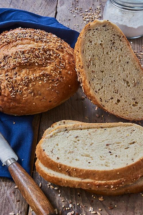 12-Grain San Francisco Sourdough Round Bread