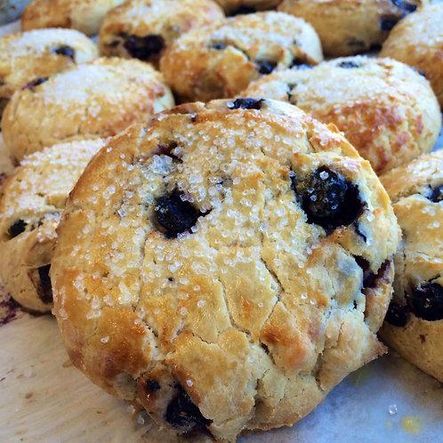 Gluten-free Blueberry Scone