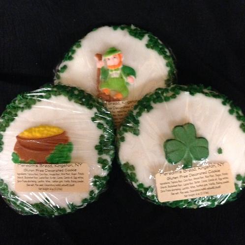 Saint Patrick's decorate cookies
