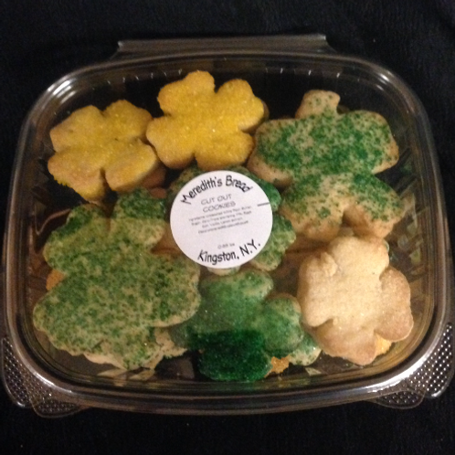 Saint Patrick's Cut cookies