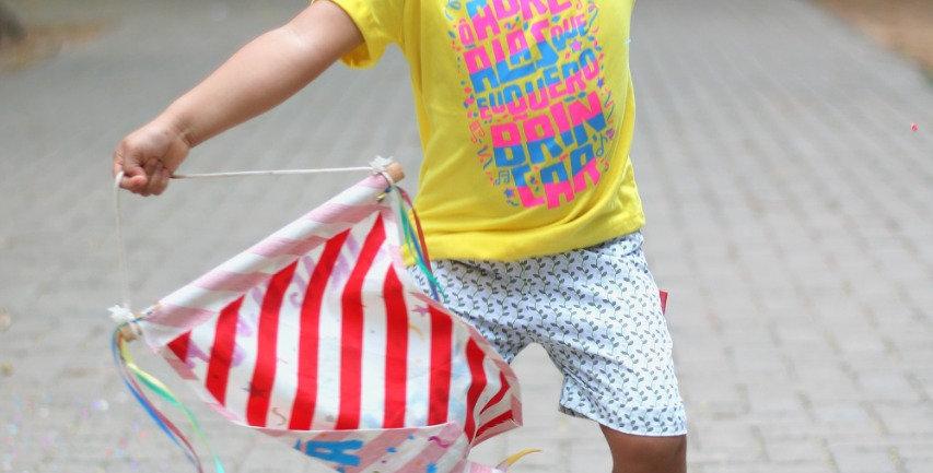 Tshirt carnaval infantil abre alas Ziguezá