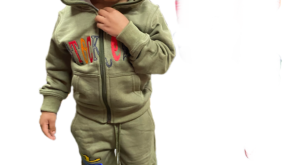 Kids worldwide sweat suit