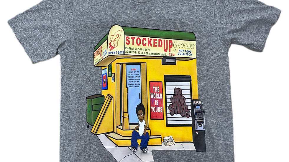 Poppy store graphic tshirt