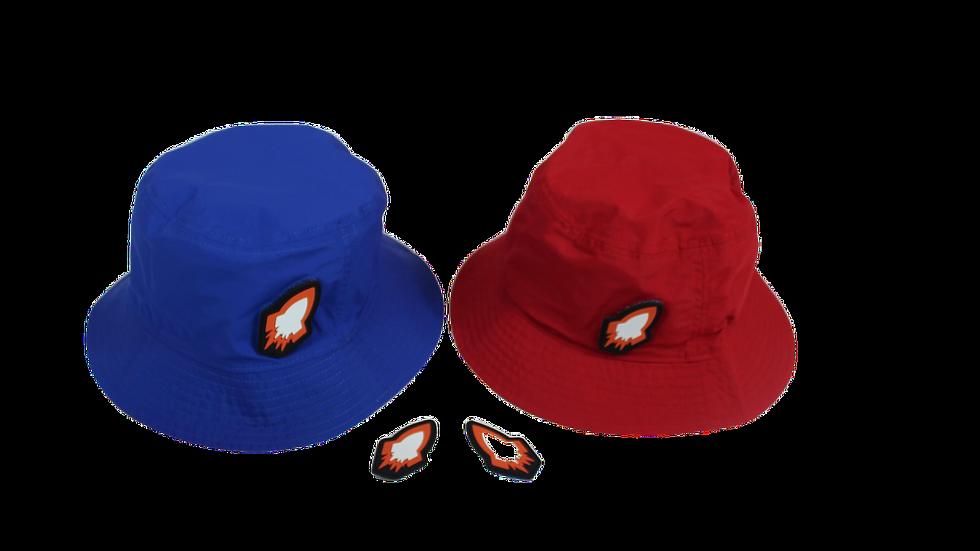 Reversible Rocket Bucket Hat