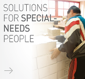 solutions for special-needs people