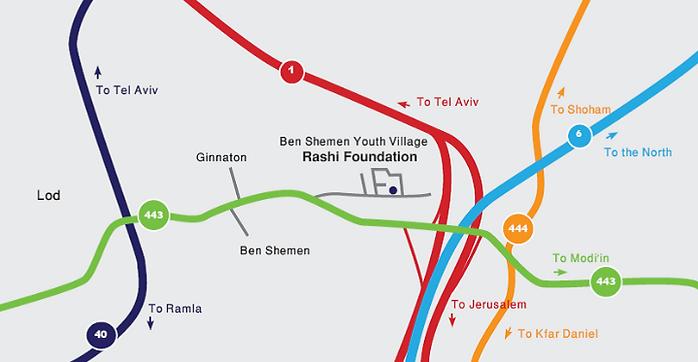 rashi foundation travel directions