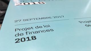 Principales orientations des Lois de finances pour 2018